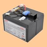 Сменный батарей (АКБ) в Apc RBC48 - фото