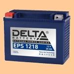 Аккумулятор для мотоцикла стартерный Delta EPS 1218(20 А·ч) 1218 YTX20-BS, YTX20H-BS - фото