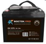 Аккумуляторная батарея к ибп (АКБ) CK-1275 Восток для насосов и котлов - фото