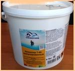 (Ударный хлор) Кемохлор Т-65 гранулированный 5 кг (Химия для бассейна) - фото