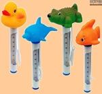 Термометр для бассейна с игрушкой - фото