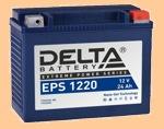 Аккумулятор для мотоцикла стартерный 12V/24Ah Delta EPS 1220 (24 А·ч) 1220 YTX24HL-BS, YTX24HL - фото