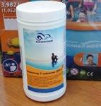 Медленный хлор,Таблетки Кемохлор ТT 200 гр (1кг) ( Химия для бассейна ) - фото