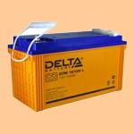 Аккумуляторная батарея (АКБ) к ибп Delta DTM 12120 L (12В/120 А·ч) 12120 L (12-120) для насосов и котлов - фото