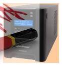ИБП Line-Interactive CyberPower PR750ELCD - фото