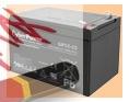Аккумуляторная батарея для ибп 12V/12Ah CyberPower GP12-12 (1212) - фото